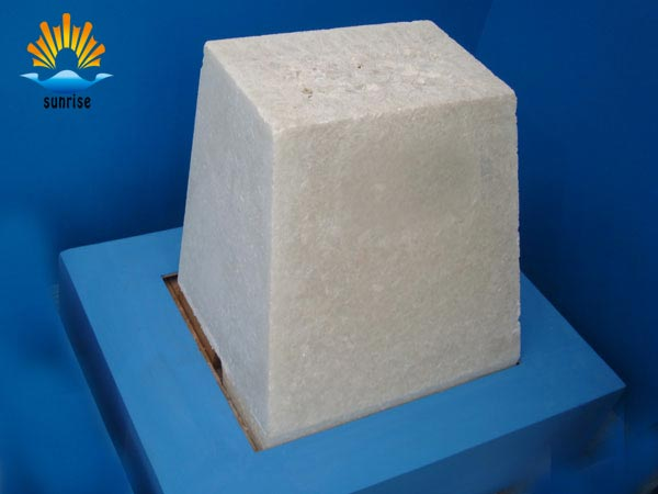Insulation brick construction process