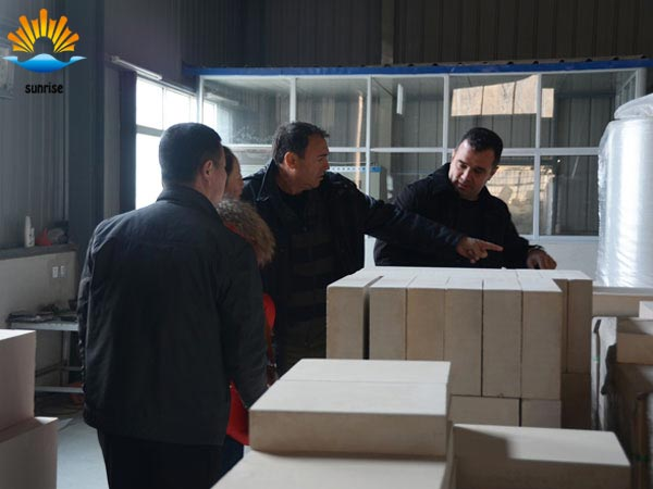 UAE to our factory inspection brick