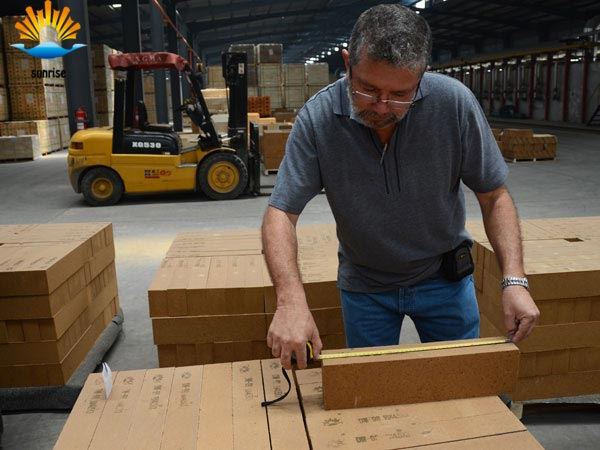 Venezuela ZS-65 zirconia bricks that clients ' factories for