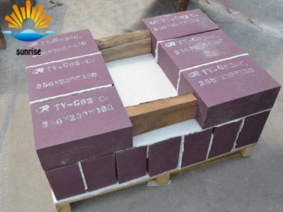 Chrome Corundum Block